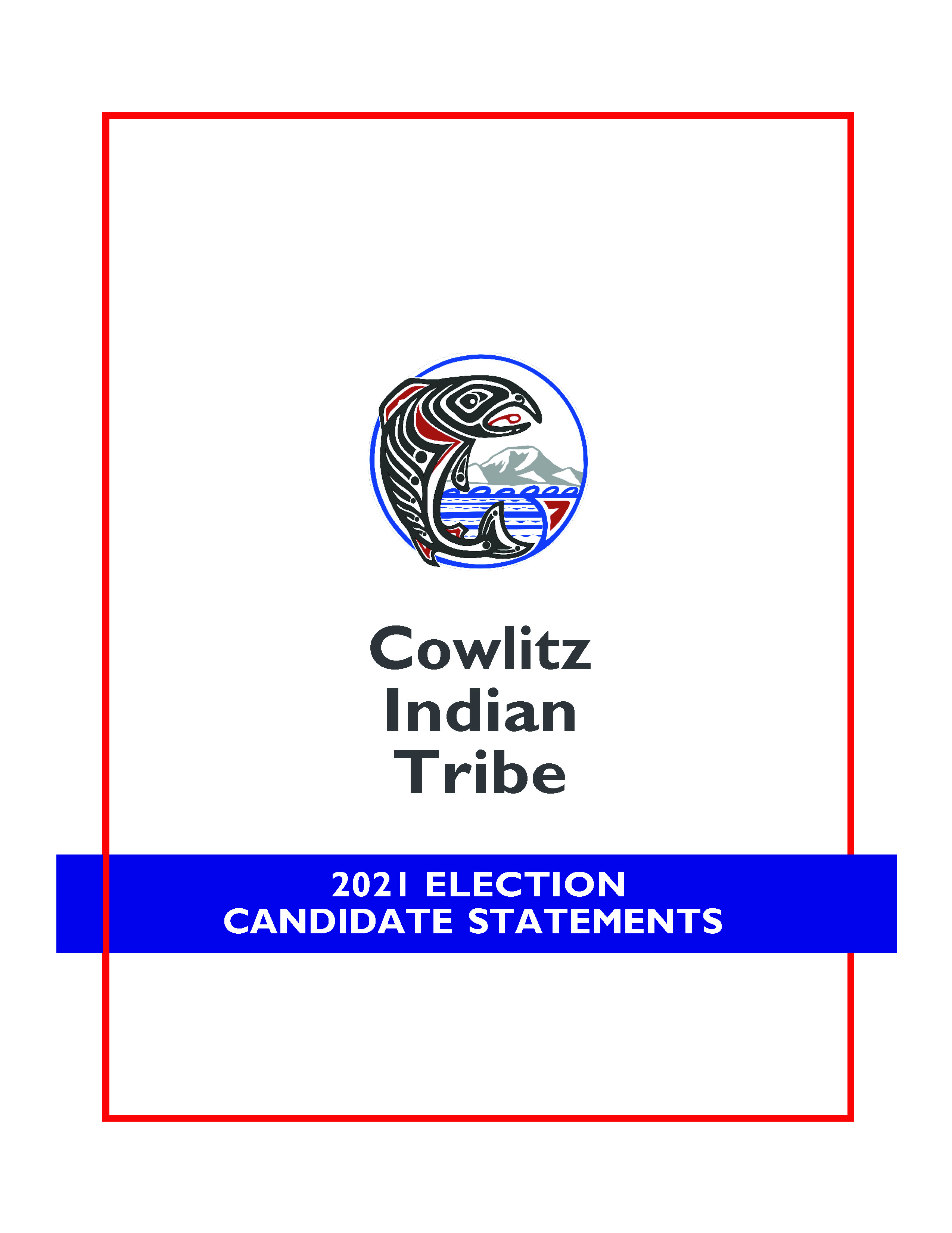 2021 CANDIDATE STATEMENT BOOK